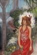 Queen Teyla painting